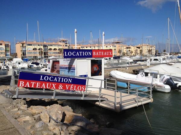 bureaux location bateau à Port Leucat